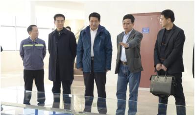 李永乐董事长等到山东核电公司现场调研