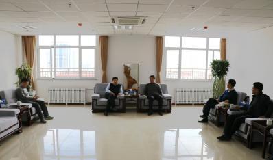 杭州永盛集团董事长李诚到我公司交流访问
